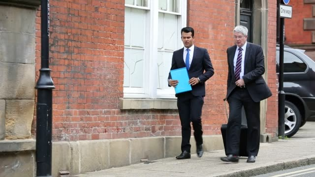 Former England cricketer Shiv Thakor arrives at the South Derbyshire Magistrates Court in Derby where he denied two charges of indecent exposure
