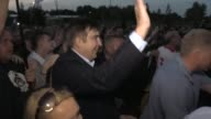 Former Georgian president Mikheil Saakashvili and hundreds of his supporters force their way into Ukraine in a bid by the firebrand politician to...