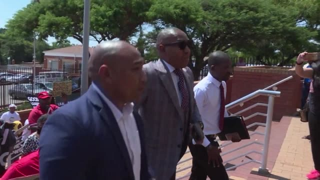 Former Higher Education Deputy Minister Mduduzi Manana is appearing in the Randburg Magistrate's Court in Johannesburg to be sentenced