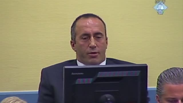 Former Kosovo prime minister Ramush Haradinaj was back in court Thursday on war crimes charges after appeal judges found witnesses were intimidated...