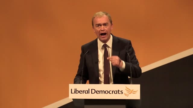 Former Liberal Democrats leader Tim Farron has attacked the leaders of the major parties and called them cowards over their stance on Brexit The MP...