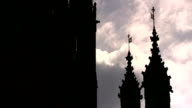 Former minister Denis MacShane jailed for expenses fraud File Date Unknown Houses of Parliament Various shots parliament building including silouette...