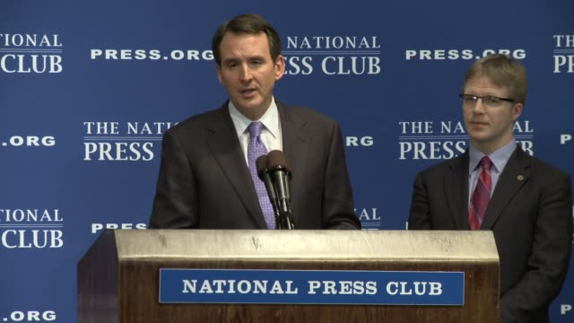 Former Minnesota governor Tim Pawlenty answers the question will he run for President Tim Pawlenty Republican candidate shortlist at National Press...