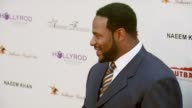 Former NFL player Jerome Bettis at the DesignCare 2007 at the home of Tammy and Eric Gustavson in Malibu California on July 22 2007