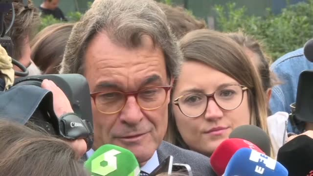 Former president of Catalonia Artur Mas says the Spanish State is the only one to use violence while Catalan separatists including the region's...
