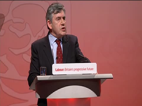 Former Prime Minister Gordon Brown says that he takes 'full responsibility' for losing the general election at the Labour Party annual conference