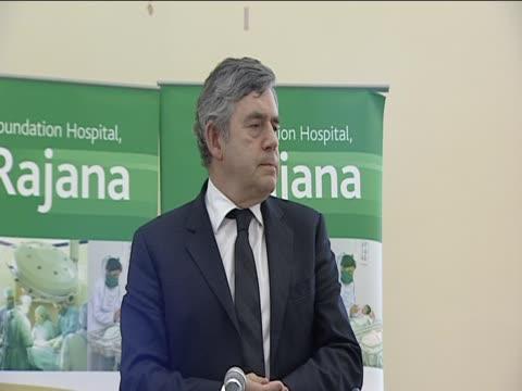 Former Prime Minister Gordon Brown talks of the devastation in Pakistan following floods