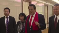 Former professional wrestler and member of the Japanese House of Councillors Kanji Antonio Inoki arrived in North Korea Thursday amid rising tensions...