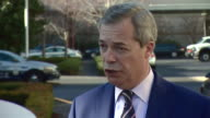 Former UKIP leader Nigel Farage saying the party needs to 'own the immigration issue' and 'weren't clear enough with the electorate' after losing the...