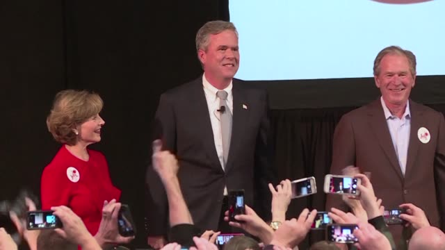 Former US president George W Bush launches himself into the caustic Republican nomination fray in support of his candidate brother Jeb whose rival...