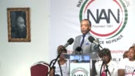Former US Presidential candidate Al Sharpton calls on the federal governement to step in and establish federal guidelines to deal with agressive...