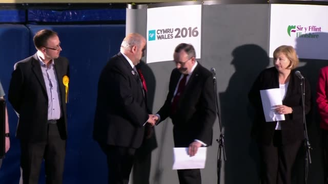 Former Welsh government minister Carl Sargeant found dead at his home LIB Carl Sargeant AM on stage during declaration at Welsh Assembly Elections