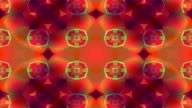 Forms, patterns and colors merge and pulse kaleidoscopically.