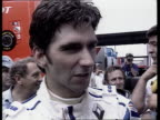 Formula One French Grand Prix Nigel Mansell gains pole position on his return to motor racing Damon Hill interview SOT No doubting Mansell's ability...