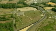 AERIAL, Formula one race track, Le Mans, Pays de la Loire, France