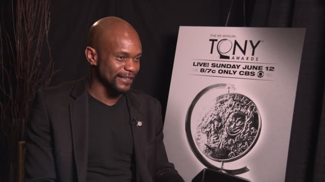Forrest McClendon says to be nominated for a Tony during his Broadway debut is overwhelming describes his favorite Tony moment is when Viola Davis...