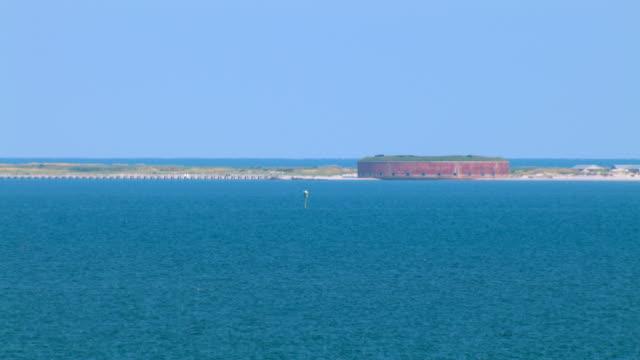 Fort Massachusetts on Ship Island overlooks the Gulf of Mexico.