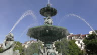 Fountain in Lisbon