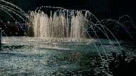 Fountain water splash
