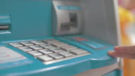 Four clips in one clip of Insert a debit card