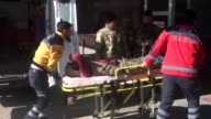 Four members of Free Syrian Army who have been injured in the fight against Daesh terrorist organization as part of the ongoing Operation Euphrates...