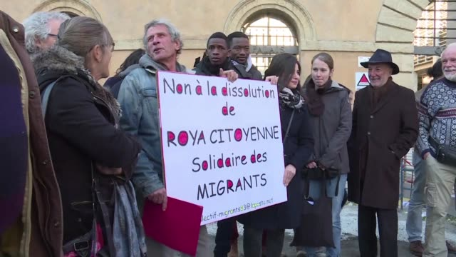 Four people who helped six migrants cross the Italian border into France in the Roya valley appealed on Wednesday against an initial court ruling...