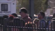 KTLA Fourteen people were killed and about 14 were hospitalized with injuries after up to three shooters opened fire with long guns inside the Inland...