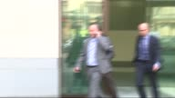 Fourteen year old accused of attempting to incite terrorist act appears in court ENGLAND London Westminster Magistrates Court EXT Police van leaving...