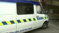 Fourteen year old accused of attempting to incite terrorist beheading and Anzac attack ENGLAND London Westminster Magistrates Court EXT Police van...