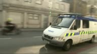 Fourteen year old accused of attempting to incite terrorist beheading and Anzac attack Police van along as leaving court