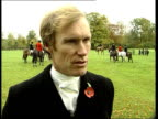 Prince William row Young girl hunting Another Young boy on pony James Crowhurst interview SOT  Want Prince Charles and his...