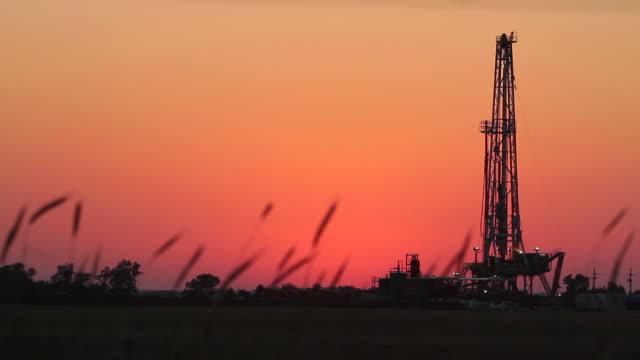 Fracking At Dusk