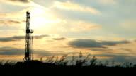 Fracking BackLit