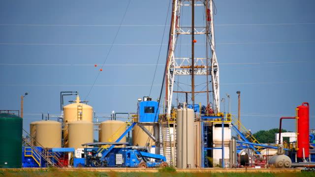 Fracking Oklahoma Closeup