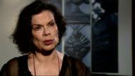 Intvw Bianca Jagger ENGLAND London INT Bianca Jagger interview SOT