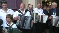 France holds memorial service for Andre Verchuren the king of the accordion who entertained generations in the dance halls and on record died last...