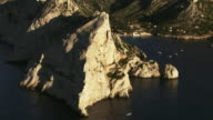 France, Marseille: Little port in a rocky island