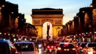 France Paris Arc de Triomphe Avenue Champs Elyses