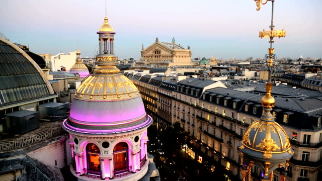 France Paris Opera Garnier Opera House illuminated dusk