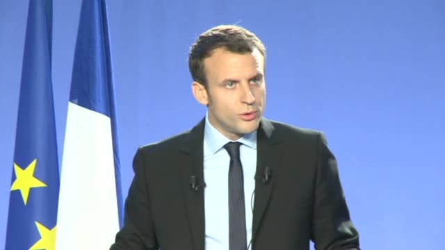 France's former economy minister Emmanuel Macron a 38 year old fresh face in national politics announced his bid for the presidency on Wednesday...