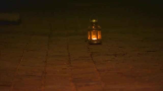 FranceSingle candle light lamp