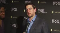 Francis BlayMiezah and Aaron Rodgers at the Axe CYB Party Sundance Film Festival 2010 at Park City UT