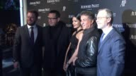 FrancoisHenry Bennahmias Frieda Pinto Sylvester Stallone at Audemars Piguet Celebrates The Grand Opening of Rodeo Drive Boutique in Los Angeles CA