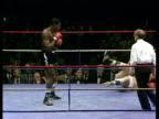 Frank Bruno knocks out Rudy Gauwe