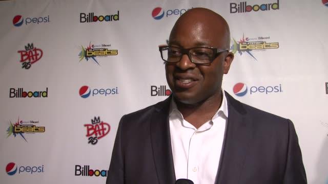 Frank Cooper talks about enjoying Pepsi at PEPSI Billboard Present The Summer Beats Concert Series Celebrating Michael Jackson at Gotham Hall on...