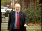 Frank Dobson MP towards along street Frank Dobson MP interviewed SOT I will stand under whatever rules there are which apply to everyone and I am...