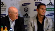 Frank Lampard press conference after signing 5 year contract with Chelsea FC Frank Lampard interview SOT On Chelsea's serious status among European...