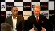Frank Warren James DeGale Billy Joe Saunders and Frankie Gavin press conference and interviews Boxers have achieved as much as they can in the...