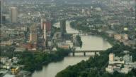 AERIAL Frankfurt am Main, Hesse, Germany