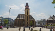 Frankfurt am Main - Hyperlapse at Hauptwache - St.-Katharinen-Kirche